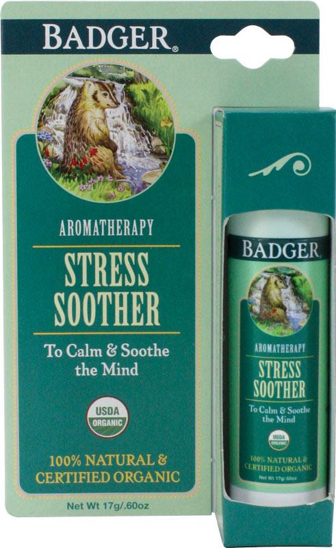 バジャー(BADGER) マインドバーム カーミング【アロマバーム・天然成分・体に塗る・ストレス・落ち着く】