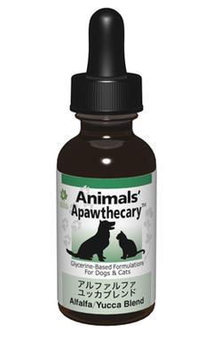 アニマルズアパスキャリー (Animals' apawthecary) アルファルファ・ユッカブレンド29.5ml【ペット用ハーブサプリ・関節のサポートに】