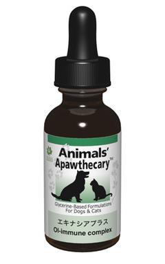 アニマルズアパスキャリー (Animals' apawthecary) エキナシアプラス 29.5ml 【ペット用ハーブサプリ・風邪の季節に】