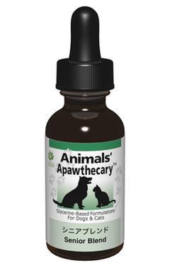 アニマルズアパスキャリー (Animals' apawthecary) シニアブレンド29.5ml 【ペット用ハーブサプリメント・チンキ・6歳を過ぎたら】