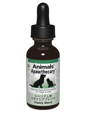 【メーカー取扱終了】アニマルズアパスキャリー (Animals' apawthecary) シベリア人参・エキナシアブレンド29.5ml 【オーガニック・ペット用ハーブサプリ】