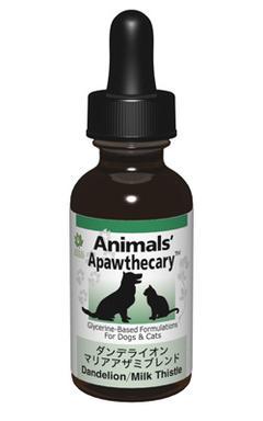 アニマルズアパスキャリー (Animals' apawthecary) ダンデライオン・マリアアザミブレンド 【ペット用ハーブサプリ・投薬の負担が心配】