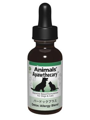 アニマルズアパスキャリー (Animals' apawthecary) バードックプラス 29.5ml【ペット用ハーブサプリ・チンキ・皮膚の弱い子に】