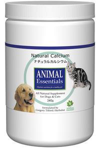 アニマル エッセンシャルズ (Animal Essentials) ナチュラル カルシウム 340g 【ペット用ハーブサプリ・ご飯にプラス・カルシウム】