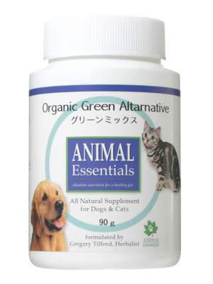 アニマル エッセンシャルズ (Animal Essentials) グリーンミックス90g【ペット用ハーブサプリ・ご飯に混ぜる・野菜の不足の子に】