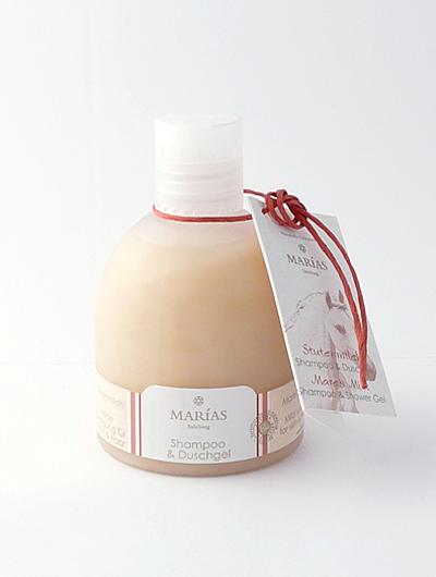 マリアス(MARIAS) メアミルク シャンプー&シャワージェル 【オーガニック・うるおう・まとまる・ボディも洗える】