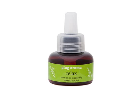 プラグアロマ(plug aroma) リラックス 交換用リキッド【精油・天然アロマ・芳香・簡単・コンセント・リラックス】