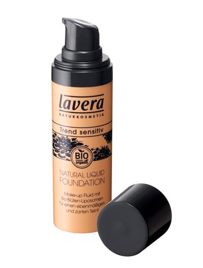 ラヴェーラ(lavera) ナチュラルリキッドファンデーション【オーガニック・薄付き・自然な仕上がり・うるおい】