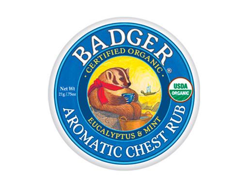 バジャー(BADGER) アロマティックチェストラブバーム【アロマバーム・天然成分・体に塗る・風邪の不快感】
