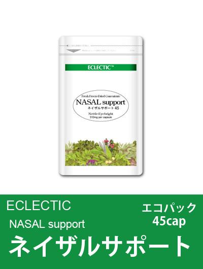 【メール便可】エクレクティック(ECLECTIC) ネイザルサポート Ecoパック45cap 【花粉の季節SP】