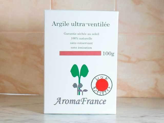アロマフランス レッドモンモリオナイト(レッドクレイ)
