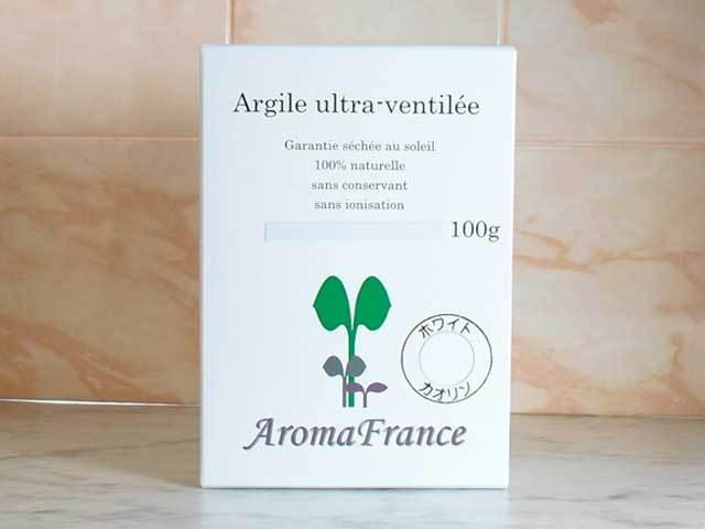 アロマフランス ホワイトカオリン(ホワイトクレイ)
