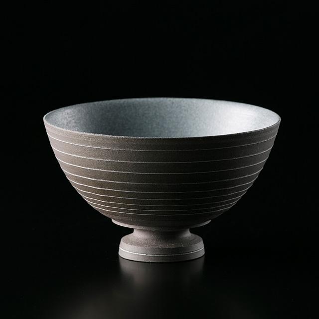 T.I.E 飯碗(黒褐色1) 〜作り手 アサ佳さん(岐阜県土岐市)