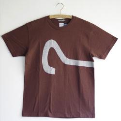 原明子 アートなTシャツ (S) No.7084 「クエッションモンキー」 [Pop Up Studio|原明子(静岡県)] ポップ アップリケ モダンアート