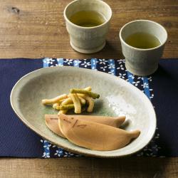 オーバル鉢(盛り鉢・カレー皿・シチュー皿) / 河内啓さん(岐阜県土岐市)