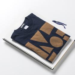 原明子 アートなTシャツ 【S(Ladys:M)】 <コンポジション> |Pop Up Studio(静岡県)] ポップ アップリケ モダンアート