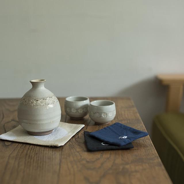 知多木綿ティーマット|染緒 -samio- 泉 奈穂