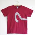 原明子 アートなTシャツ(160/XS)  No.7086「ギモンとコウテイ」 [Pop Up Studio|原明子(静岡県)] ポップ アップリケ モダンアート