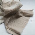 知多木綿生成りガーゼ草木染めストール|染緒 -samio- 泉 奈穂