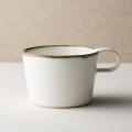 富士山麓の作家が贈る 白いマグカップ(ショートM)