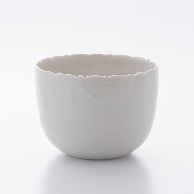 青白磁 輪花深鉢 ~つくり手 竹下努さん(岐阜県土岐市)