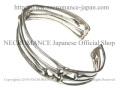 【ネクロマンス NECROMANCE】 シルバーボーンブレスレット Silver Bone Bracelet 骸骨 バングル