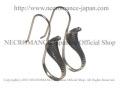 【ネクロマンス NECROMANCE】 シルバーコブラピアス Silver Cobra Pierce 蛇 ヘビ