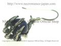 【ネクロマンス NECROMANCE】 ラピスラズリ ボーンハンドピアス Lapis lazuli Bone Hand Pierce 瑠璃 骸骨