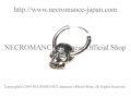 【ネクロマンス NECROMANCE】 スカルピアス <チャンキースカル/サイドホール> Skull Pierce <Chunky Skull / Side Hole> 骸骨 頭蓋骨