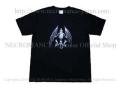 【ネクロマンス NECROMANCE】 バットスケルトン Tシャツ Bat Skeleton T-Shirt 骸骨 蝙蝠 コウモリ