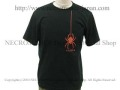 【ネクロマンス NECROMANCE】 ドロップスパイダー Tシャツ Drop Spider T-Shirt 蜘蛛