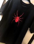 【チャリティー企画商品】【予約販売】【ネクロマンス NECROMANCE】 スパイダーTシャツ<ピンク/Pink/桃色> Spider T-Shirt 蜘蛛