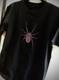 【チャリティー企画商品】 【ネクロマンス NECROMANCE】 スパイダー Tシャツ<パープル/Purple/紫> Spider T-Shirt 蜘蛛