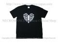 【ネクロマンス NECROMANCE】 ハートリブスケルトン Tシャツ Heart Rib Skeleton T-Shirt 骸骨 肋骨