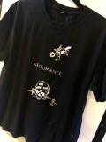 【チャリティー企画商品】【予約販売】【ネクロマンス NECROMANCE】 スカル&エンジェル Tシャツ <黒> Skull & Angel T-Shirt 骸骨 天使