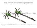 【ネクロマンス NECROMANCE】 スパイダーヘアーピン Spider Hair Pins <グリーン/Green/緑> 蜘蛛