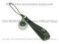 【ネクロマンス NECROMANCE】 義眼携帯ストラップ Eye Mobile phone charm strap <ヴァイオレット/Violet/青紫> 目玉