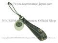 【ネクロマンス NECROMANCE】 義眼携帯ストラップ Eye Mobile phone charm strap <グリーン/Green/緑> 目玉