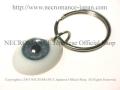 【ネクロマンス NECROMANCE】 義眼キーリング Eye Keyring <ブルー/Blue/青> 目玉