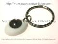 【ネクロマンス NECROMANCE】 義眼キーリング Eye Keyring <ヘーゼル/Hazel/茶色> 目玉
