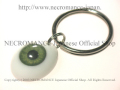 【ネクロマンス NECROMANCE】 義眼キーリング Eye Keyring <グリーン/Green/緑> 目玉