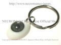 【ネクロマンス NECROMANCE】 義眼キーリング Eye Keyring <グレー/Gray/灰色> 目玉