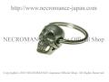 【ネクロマンス NECROMANCE】【限定】タイニースカルキーリング Tiny Skull Keyring 骸骨 頭蓋骨