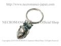 【ネクロマンス NECROMANCE】 タイニーハートキーリング Tiny Heart Keyring <シルバー/Silver> 心臓