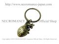 【ネクロマンス NECROMANCE】 タイニーハートキーリング Tiny Heart Keyring <ブラス/Brass> 心臓