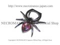 【ネクロマンス NECROMANCE】 スパイダー スマホリング <ピンク/Pink/桃色> Spider Phone Ring 蜘蛛