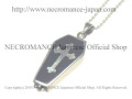 【ネクロマンス NECROMANCE】 シルバー棺桶クロスネックレス Silver Coffin Cross Necklace 棺桶 十字架 骸骨