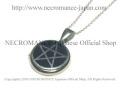 【ネクロマンス NECROMANCE】 シルバーエナメルペンタグラムネックレス Silver Enamel Pentagram Necklace 五芒星