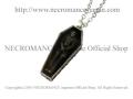 【ネクロマンス NECROMANCE】 ヴァンパイア棺桶ゴーストネックレス Vampire Coffin Ghost Necklace 吸血鬼 骸骨