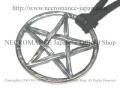 【ネクロマンス NECROMANCE】 シルバーペンタグラムネックレス Silver Pentagram Necklace 五芒星 リバースペンタグラム